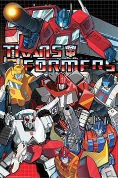 Transformers Animated 5 Poster Set 24x36 Autobots Decepticons Logo ...