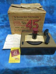 RCA Victor `Victrola` Record Changer Attachment