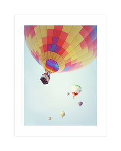 """""""Summer Sky"""" - Limited Edition Art Print by Haley Warner in beautiful frame…"""
