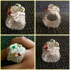 Anillos a crochet