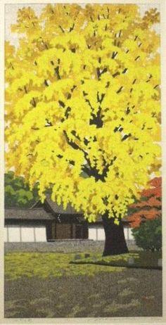 井堂雅夫 御所の秋 - Masao Ido - Imperial Palace