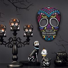 Avon Living Day of the Dead Hanging Skull. Avon. Celebrate Day of the Dead with a festive hanging skull that will lift anyone's spirits. Regularly $22.99.  Shop online with FREE shipping with any $40 online Avon purchase.  #Avon #Home #CJTeam #HomeDecor #DayOfTheDead #Halloween #FallintoStyle #AvonLiving #Avon4Me #C19 #Fall #Decor Avon Living Online @ www.TheCJTeam.com