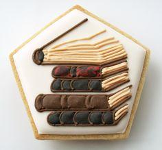 Pour toi qui est toujours entrain de lire  Harry Potter Cookies | Honeycat Cookies