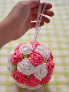 Bola de flores.