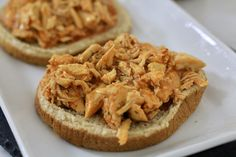 Buffalo Chicken Sandwiches Slow cooker