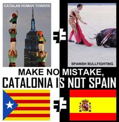 Freedom for Catalonia Barcelona, Scottish Independence, Political Posters, Image Cat, Sociology, Oppression, Homeland, Holidays And Events, Feel Good