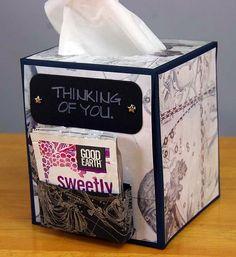 Get Well Tissue Box