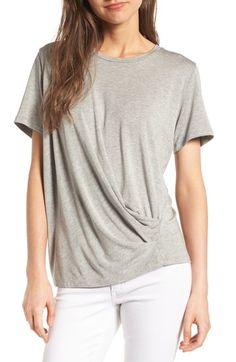 1ad5b12467 Free shipping and returns on Amour Vert Nelle Drape Tee at Nordstrom.com.  Upgrade
