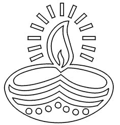 Diwali candles are light to fight off evil! Color your own light! #Diwali #TandoorChef #tradition