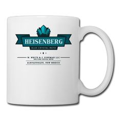 Blue Crystal Meth Business Breaking Bad Logo Travel Tea Cups Porcelain Coffee Mugs *** New and awesome cat product awaits you, Read it now  : Cat mug