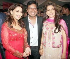 Bollywood celebs go pink at Gulab Gang special screening (view pics)