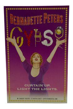 "Gypsy"" Broadway Show Poster | Chairish"