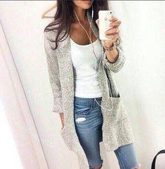 jeans sacos largos