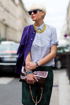 Purple, Green & Yellon: Elisa Nalin