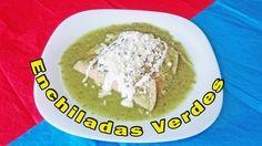 Un antojo mexicano que no puede faltar en tus recetas, aprende de manera fácil a preparar unas ricas enchiladas verdes. https://youtu.be/Nq_clGcs5P0