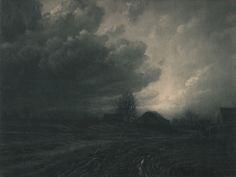 Léonard Misonne - Cumulus, 1928