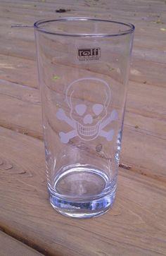 Skull Cooler Glass Gift Set