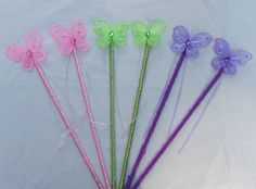 10 Party Favor Butterfly Wands 10 Wand Party Pack by TutuTerritory