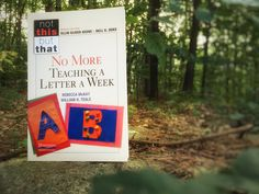 No More Teaching A Letter A Week is the latest offering in the Not This But That series, edited by Ellin Keene and Nell Duke. In this new book, early literacy researcher Dr. William Teale argues that alphabet knowledge is more than letter recognition, and he identifies research-based principles of effective alphabet instruction. Literacy coach Rebecca McKay brings those principles to …