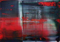 "Gerhard Richter, Abstraktes Bild (Peinture abstraite) Exposition ""Gerhard Richter, Panorama"" au Centre Pompidou, Paris, 2012."