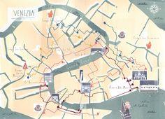 Emily Day - Venice Map