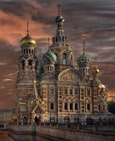 The Church of the Savior on Spilled Blood is one of the main sights of St. Petersburg, Russia. It was built on the site where Emperor Alexander II was fatally wounded in March 1881. #learnrussian #studyrussian #russianlanguage
