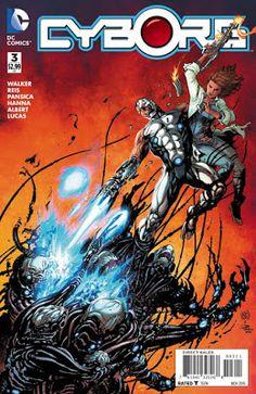 Weird Science DC Comics: Cyborg #3 Preview