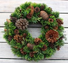 Natural wreath Christmas Flowers, Cozy Christmas, Christmas Time, Christmas Crafts, Christmas In England, Fall Decor, Holiday Decor, Xmas Wreaths, Holiday Market