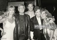Jennifer Edwards Blake Edwards Chris Lemmon Julie Andrews and Emma Walton Blake Edwards, Jennifer Edwards, Julie Andrews, Emma Walton, Eliza Doolittle, Fair Lady, Living Legends, World's Fair, Beautiful Actresses