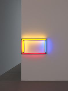 a primary picture, by Dan Flavin 1964