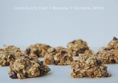 Chocolate-Chip-Banana-Oatmeal-Bites-4-Ingredients