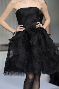 #Black Evening Gown