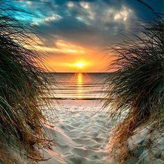 Ein märchenhafter Sonnenuntergang