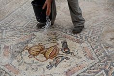 News of the discovery of a massive 1,700 year-old Roman mosaic was recently released to the public and press. The extensive and detailed mural is thought t