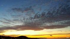 Atardecer en las medianias del norte de Gran Canaria.