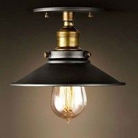Lights & Lighting Strict Retro Industrial Sconce Mini Adjustable Vintage Edison Simplicity Wall Lamp/ceiling Light Loft Style Antique Lampshade Ambilight Non-Ironing Lighting Accessories