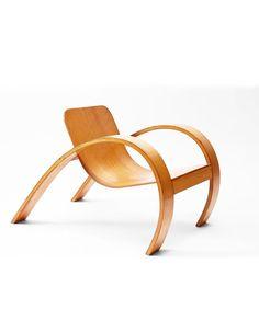 Steven Kalmar, chair, 1952. Plywood. Australia.