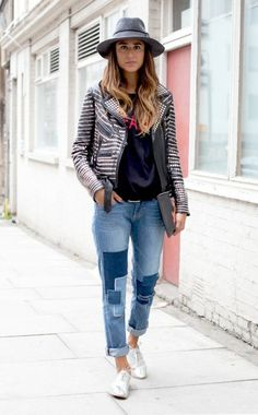 damenmode damenjeans patchwork jeans damen