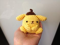 Ravelry: Crochet Purin Purin Artist Dog Doll Toy pattern by DDs Crochet