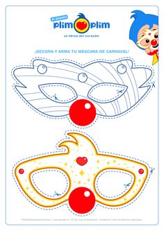 Clown Party, Church Crafts, Ideas Para Fiestas, Photo Booth Props, Baby Party, First Birthdays, Kitty, Symbols, Crafty