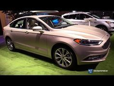 2019 Ford Fusion Platinum Exterior And Interior Walkaround 2018 New York Auto Show Youtube Ford Fusion 2019 Ford Best New Cars