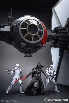 Star Wars Black Series First Order Special Forces Tie Fighter In-Hand Gallery - The Toyark - News Anubis, Star Wars Models, Star Wars Pictures, Sci Fi Ships, Star Wars Ships, Tie Fighter, First Order, Black Series, Special Forces