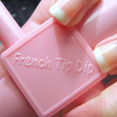 If you love the French manicure, it might be worth investing in a French Tip Dip. | 32 Easy Nail Art Hacks For The Perfect Manicure