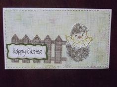 Egg shell coated in glossy accents & then put Stampin Up micro beads to fill it in. Too cute!