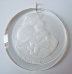 Christmas 1981 Mary and Baby Jesus Ornament