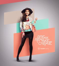 SonaeSierra Fashion Cluster on Behance
