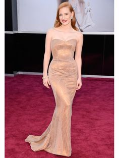 Jessica Chastain in Armani Prive @ Oscars 2013