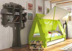 IDEAS DE DECORACIÓN: FOTOS  A continuación os damos algunas ideas para decorar la habitación de los más pequeños de la casa, con unas camas muy originales y divertidas, se quedarán sorprendidos.