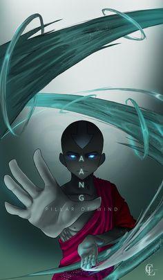 Fan Art: Aang by LeChingu on DeviantArt