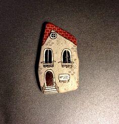 ** Painted Stone House Rock Art @unicatella